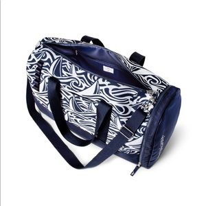 VV for Target Navy and White Rough Seas Duffel Bag